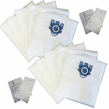 10 Bags for Miele Type GN Deluxe Synthetic Vacuum & 4 Filters  S2 S5 S8 C1 C3