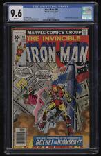 Iron Man #99 CGC 9.6 White Pages 6/1977 Sunfire Mandarin Appearance Bill Mantlo