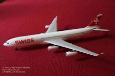 Gemini Jets Swiss International Airbus A340-300 Diecast Model in 1:200