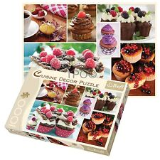 Trefl 1000 Piece Cuisine Decor Muffins Collage Adult Large Floor Jigsaw Puzzle