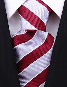 Scott Allan Mens College Striped Necktie