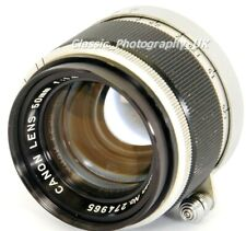 Canon Lens 50mm 1:1.8 LEICA LTM L39 fit Lens 50mm F1.8 for Leica IIIg M4 M5 M8.2