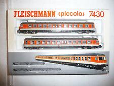 Fleischmann piccolo Spur N 7430 zweiteiliger Dieseltriebzug BR 614 der DB