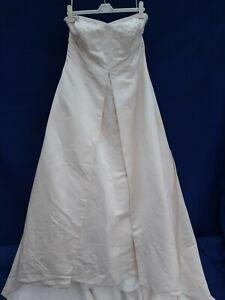 CHAMPAGNE SIZE 24 WEDDING DRESS PARTY PROM FANCY DRESS SHOP PLUS SIZE 24