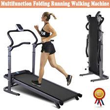Adjustable Non-electric Treadmill Folding Incline Walking machine Home Fitness U