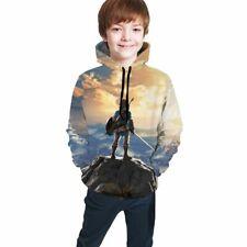 The Legend of Zelda Kids Boys Pullover Hoodies Children Sweatshirts Jumpers Coat