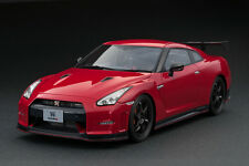 1/18 Ignition Model Nissan GT-R R35 Nismo (Vibrant red) - IG0046