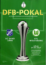 DFB-Pokalfinale 27.05.2017 SC Sand 1946 - VfL Wolfsburg in Köln