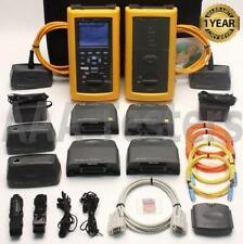 Fluke Dsp 4300 Sm Mm Fiber Cat6 Cable Tester Dsp Fta430 Dsp Fta410 Dsp Fta