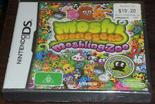 Nintendo DS. Moshi Monsters Moshling Zoo Sealed