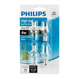Philips 415422 Incandescent 16 Lumen 4 Watt 2700K Soft