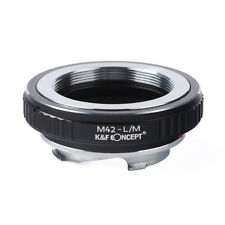 K&F Concept M42-L/M Adapter Rings for M42 Lens to Leica M LM Mount Cameras