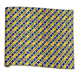 Golden State Warriors NBA Wrapping Paper - Roll - FREE SHIPPING