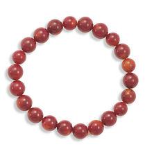 """Natural gemstone Coral stretch bracelet - 7.50"""""""