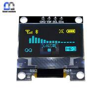 "2PCS Yellow Blue 0.96"" I2C IIC Serial 128X64 OLED LCD Display Module for Arduino"