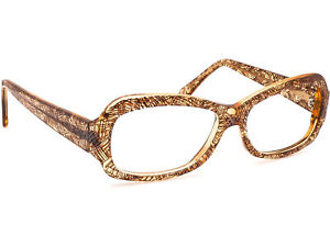 Jean Lafont Women's Eyeglasses Vahine 520 Brown Oval Frame France 53[]15 140