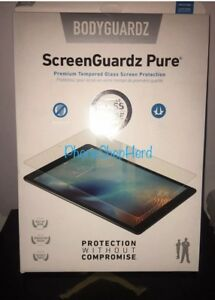 BodyGuardz ScreenGuardz Tempered Glass Screen Protector iPad Pro 12.9 Retail $70