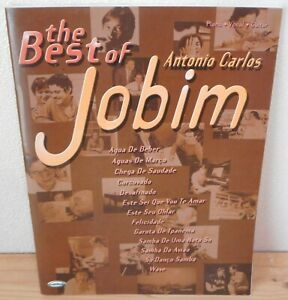 SPARTITO TABLATURE JOBIM The best of (Carisch 2004) songbook piano vocal guitar