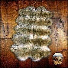 Premium Faux Fur Quatro Sheep Skin Pelt Rug Pet Bed Mat Shag Sheepskin Carpet