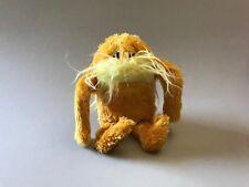 The LORAX plush toy, Dr. Seuss Lorax Toy, Manhattan Toy Company plush, gift