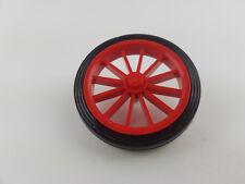 LEGO ® Classic ruota per Oldtimer Auto ROSSO ROSSA RED Cerchione Pneumatici Cerchi a raggi da 391