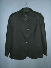 Ladies Size 8R Black Comfort Riders Tough 1 English Hunt/Show Coat/Jacket