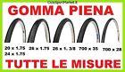 Copertone bicicletta GOMMA PIENA 20