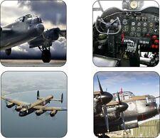 Lancaster Bomber Ww2 Plane Victory Mug Coasters