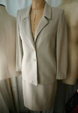 ST. JOHN COLLECTION Tweed Knit Dress Suit 2/8