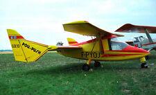GB10 Pou-Push Briffaud Tandem Wing Airplane Handcrafted Wood Model Regular New
