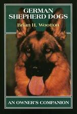 German Shepherd Dogs by Brian H. Wootton (1999, Hardcover)