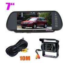 """Monitor de espejo retrovisor de coche de 7 """"+ cámara de marcha atrás para coche"""