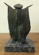 "SERGIO BUSTAMANTE BRONZE SCULPTURE ""THE WIZARD"" SIGNED AND NUMBERED"