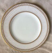 """RARE BEAUTIFUL WEDGWOOD COLONNADE GOLD W4339 8"""" STARTER/SALAD/DESSERT PLATE 1ST"""
