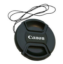 52mm Canon Camera Snap-on Len Lens Cap Cover with Cord Filter Lens Cap
