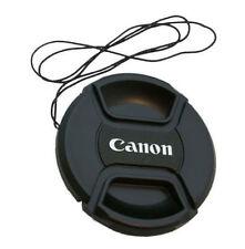 77mm Canon Camera Snap-on Len Lens Cap Cover with Cord Filter Lens Cap