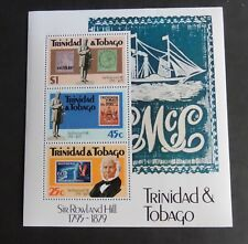 Trinidad & Tobago 1979 Rowland Hill MS ms554 Ship MNH UM unmounted mint