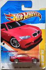 HOT WHEELS 2011 NEW MODELS '10 BMW M3 #26/50 RED