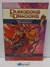 Gioco di Ruolo Manuale Manual Game Dungeons & Dragons D&D Italiano - Dragonidi -