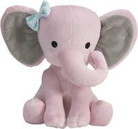 Pink Stuffed Elephant Animal Plush Toy for Baby, Girls, Boys, Newborn -Gift cute