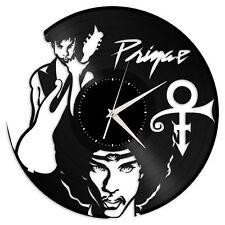 Prince Vinyl Wall Clock Record American Pop Songwriter Musician Home Room Decor