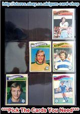 ☆ Topps 1978 Football Orange Back Cards 163 to 216 (G) *Please Choose Cards*