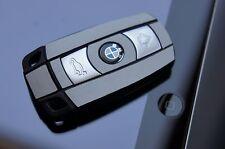 ALU gebürstet Silber Schlüssel BMW E60 E61 E65 E81 E90 E91E92 E93 E83 X3 X5 X1 3