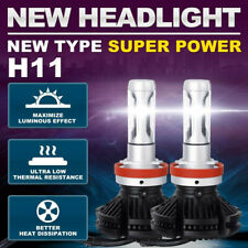 8000K 3000K 12000LM Fanless H8 H9 H11 H16JP LED Headlight Bulb Low Beam 6500K 7F