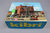 Z275 KIBRI Ho maquette B-9786 diorama usine annexe factory fabrik mit anbau