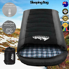 Weisshorn Sleeping Bag Bags Single Camping Hiking -20°c to 10°c Tent Winter Ther