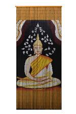 Bamboo Beaded Curtain-Buddha