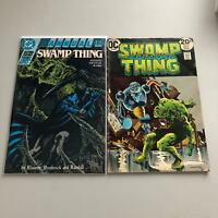 Lot of 2 Swamp Thing (1st Series) # 6 Swamp Thing (2nd Series) Annual #4
