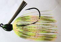 Bob4Bass Grass Jig Skirted Baby Bass US017