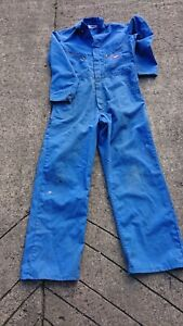Dickies Ladies Or Mens Deluxe Use Royal Blue Colour Boilersuit Or Overalls.